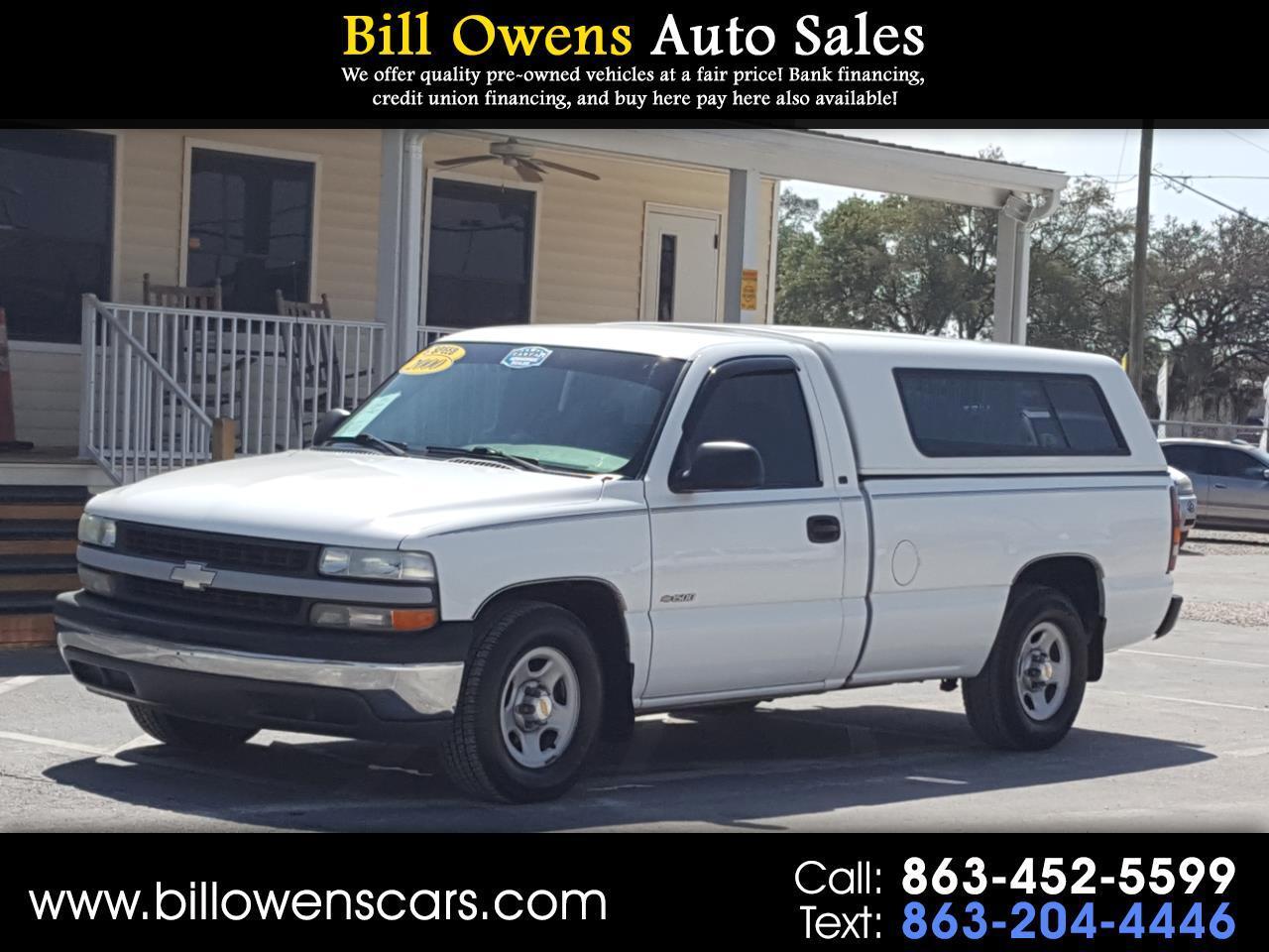 """Chevrolet Silverado 1500 Reg Cab 133.0"""" WB 2000"""