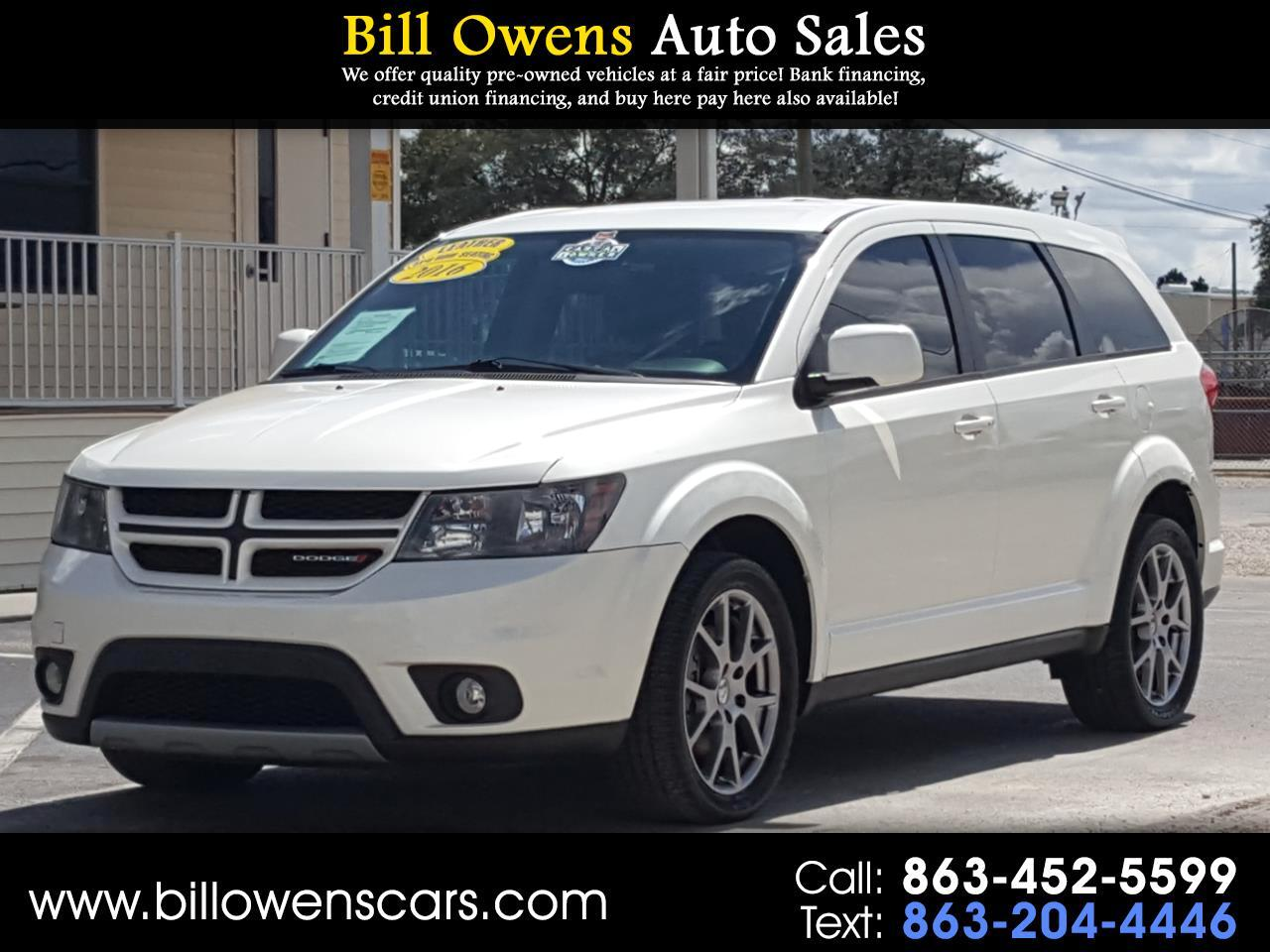 Dodge Journey FWD 4dr R/T 2016