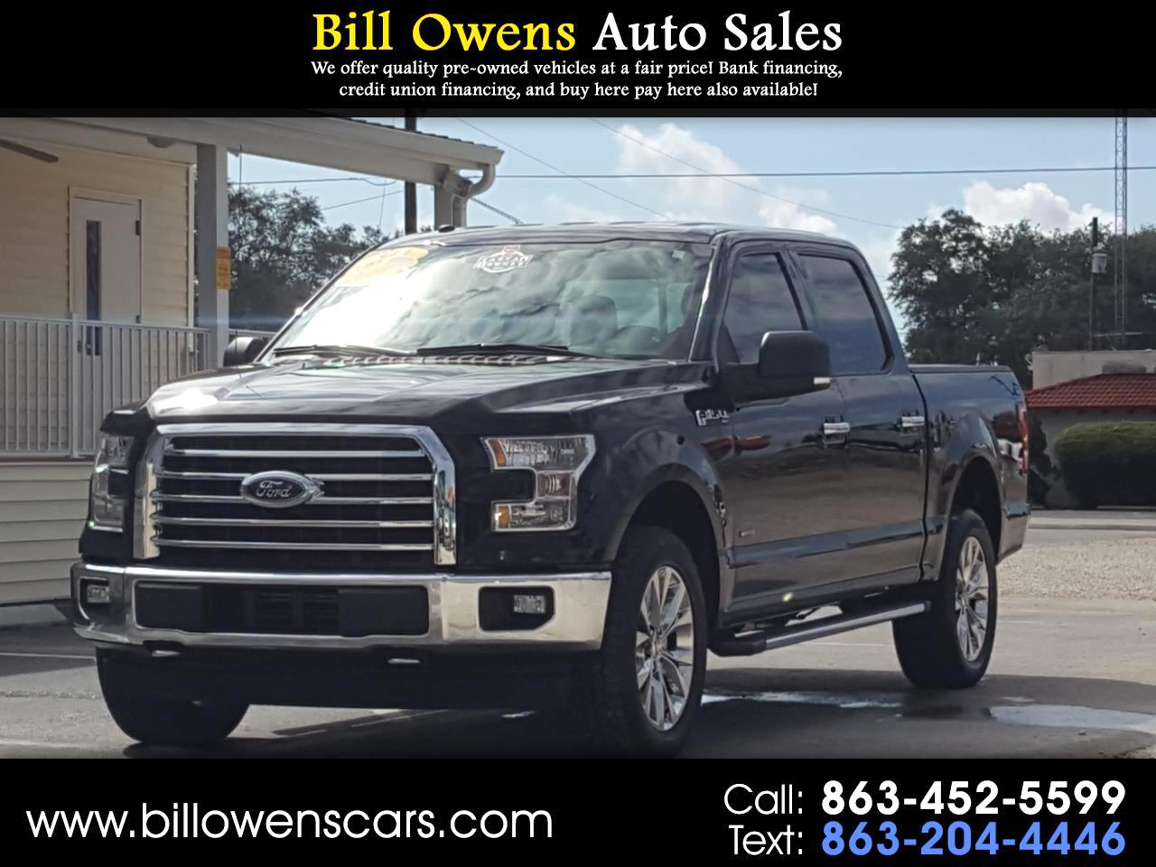 Ford F-150 XLT SuperCrew Short Bed 4WD 2017