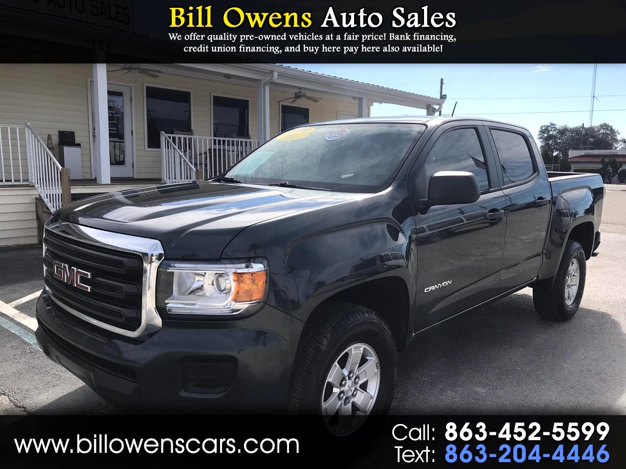 "GMC Canyon 2WD Crew Cab 128.3"" 2017"