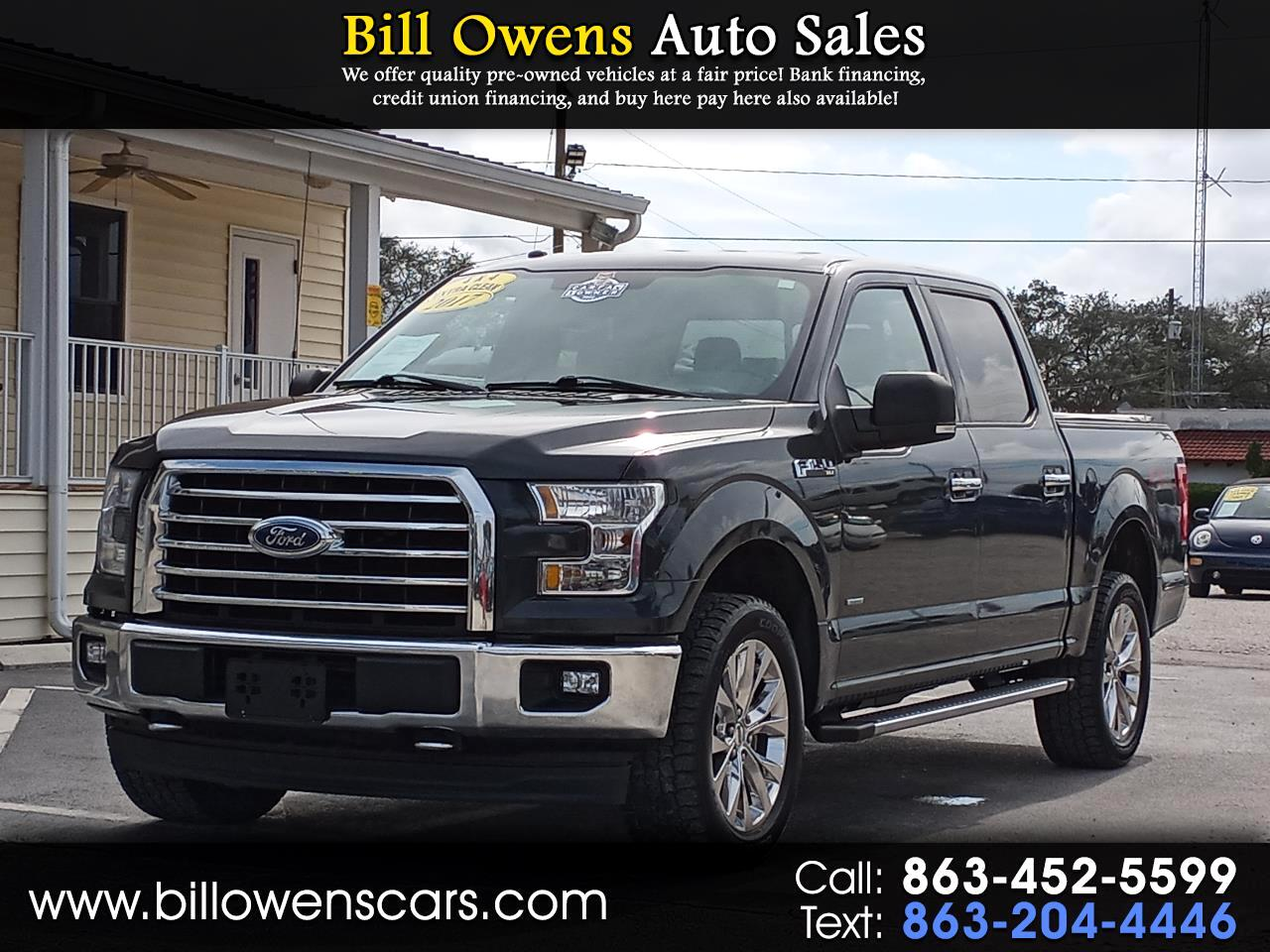 "Ford F-150 4WD SuperCrew 157"" FX4 2017"