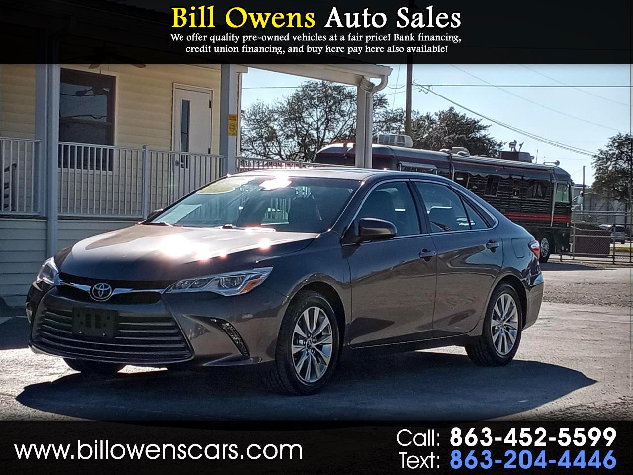 Toyota Camry 2014.5 4dr Sdn V6 Auto XLE (Natl) 2015