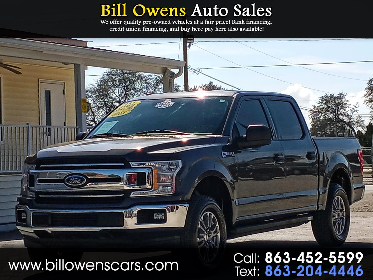 "Ford F-150 4WD SuperCrew 139"" XLT 2018"
