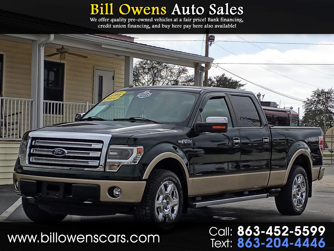 "Ford F-150 4WD SuperCrew 150"" Lariat 2014"