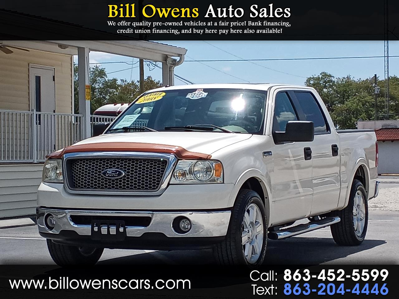 "Ford F-150 2WD SuperCrew 139"" Lariat 2008"