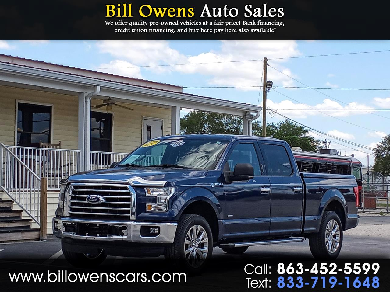 "Ford F-150 2WD SuperCrew 139"" XLT 2015"
