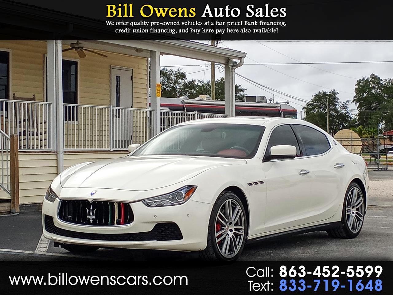 Maserati Ghibli 4dr Sdn S Q4 2014