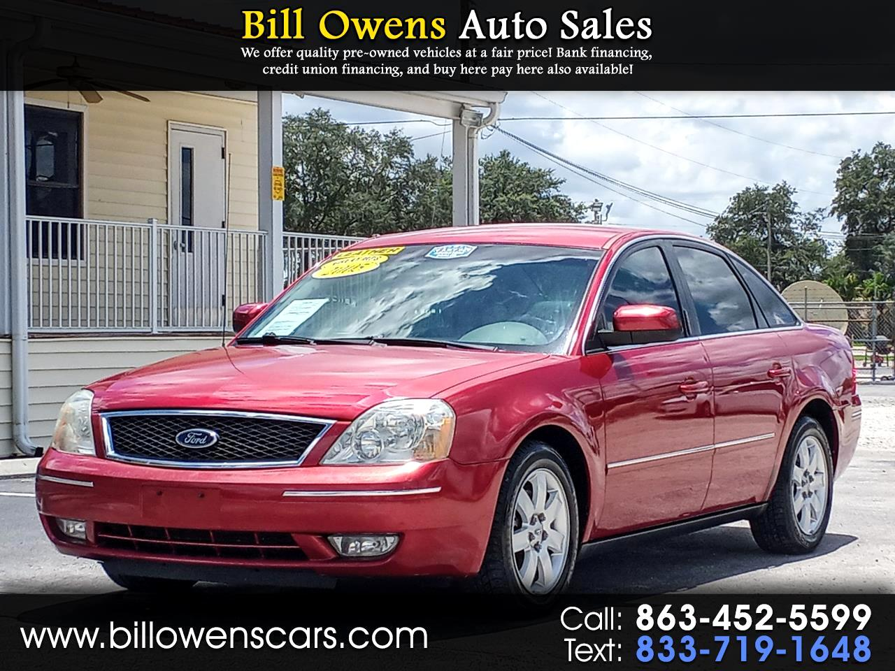 Ford Five Hundred 4dr Sdn SEL 2005