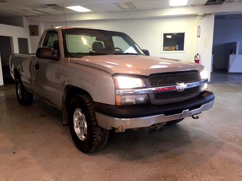 2005 Chevrolet Silverado 1500 Work Truck Long Bed 4WD