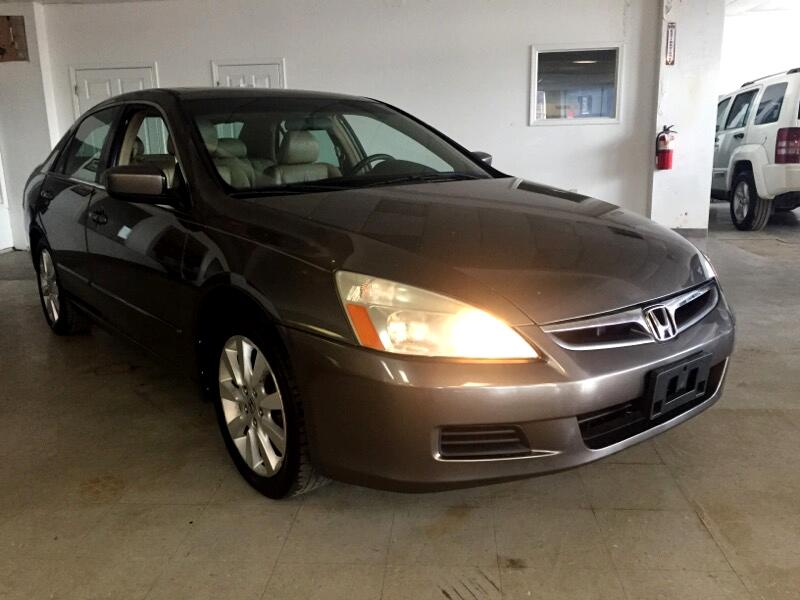 2007 Honda Accord 4dr Sedan Auto EX w/Leather
