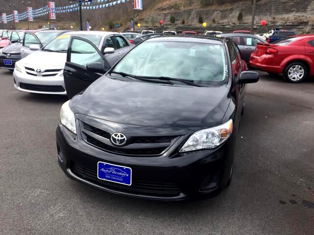 2012 Toyota Corolla L 5-Speed MT