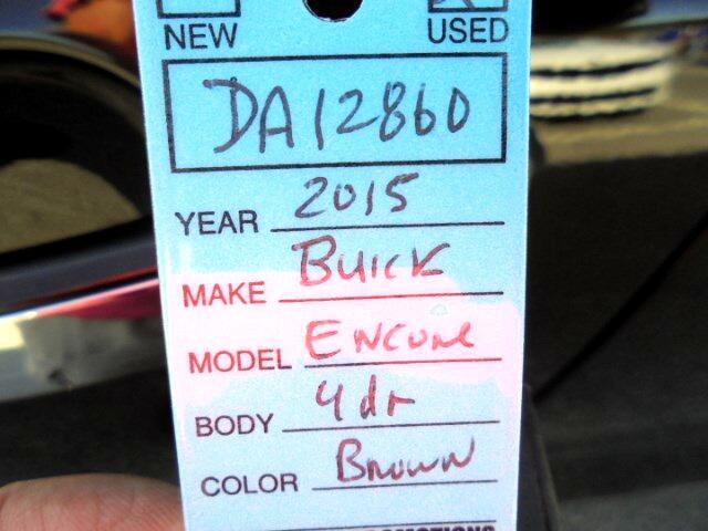 2015 Buick Encore Base FWD