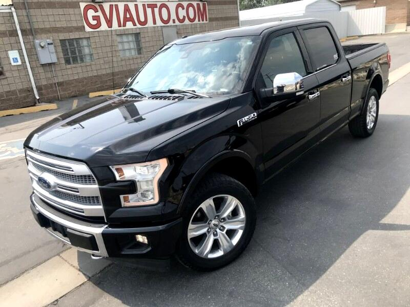 Ford F-150 Platinum SuperCrew 6.5-ft. Bed 4WD 2017
