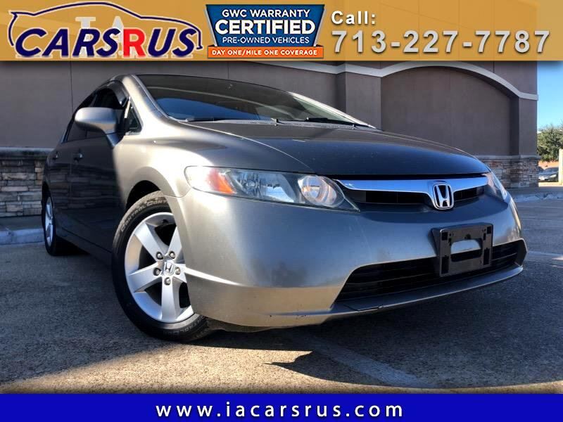 Honda Civic EX sedan AT 2007