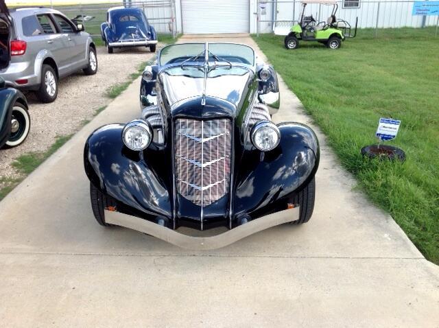 1936 Auburn Boattail Speedster Convertible