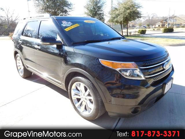 "2012 Ford Explorer 4dr 114"" WB Limited"
