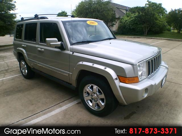 2007 Jeep Commander Overland 2WD