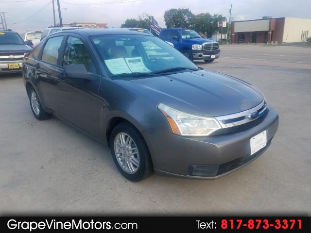 2009 Ford Focus 4dr Sdn S