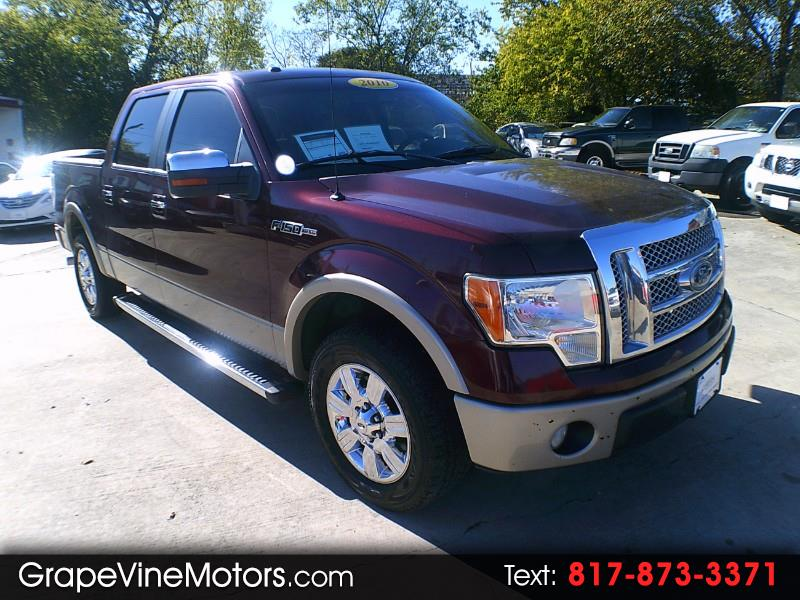 "2010 Ford F-150 2WD SuperCrew 139"" Lariat"