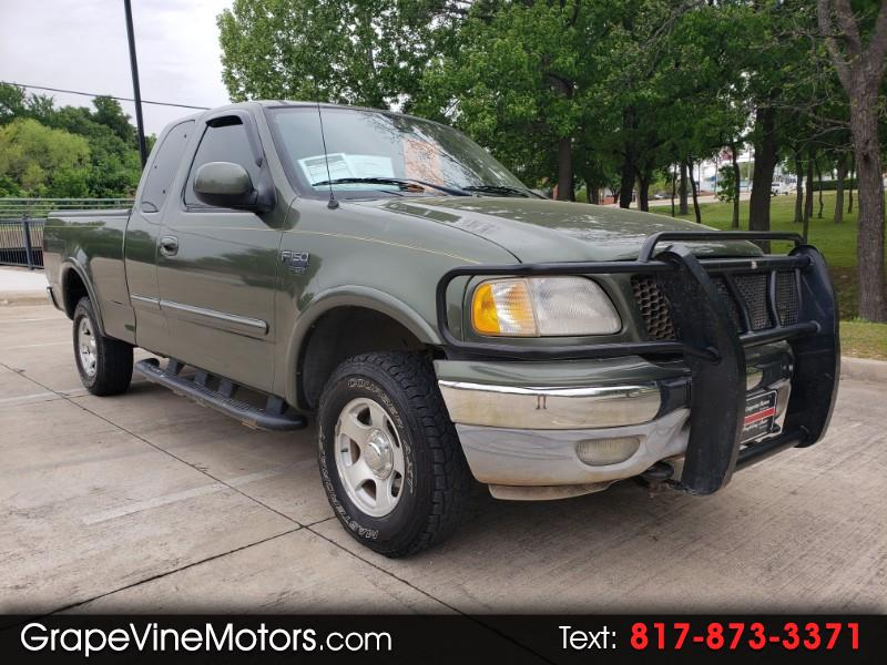 "2003 Ford F-150 4WD SuperCab 145"" XLT"