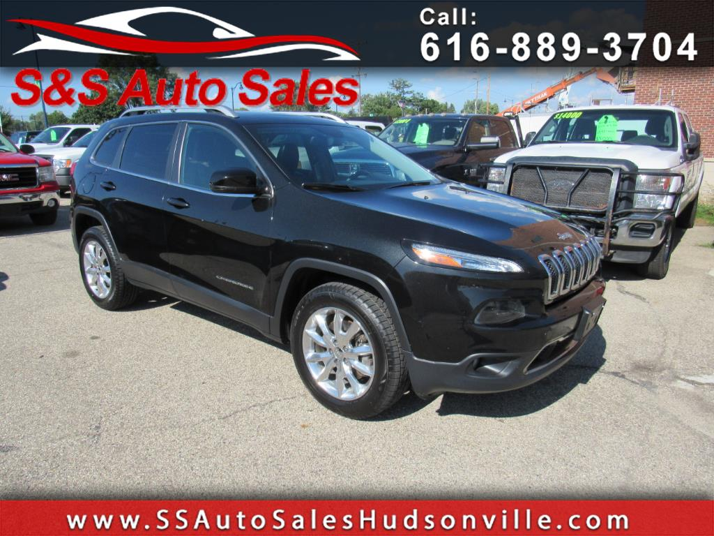 Used 2014 Jeep Cherokee For Sale In Hudsonville Mi 49426 S S Auto Sales Rh  Ssautosaleshudsonville Com