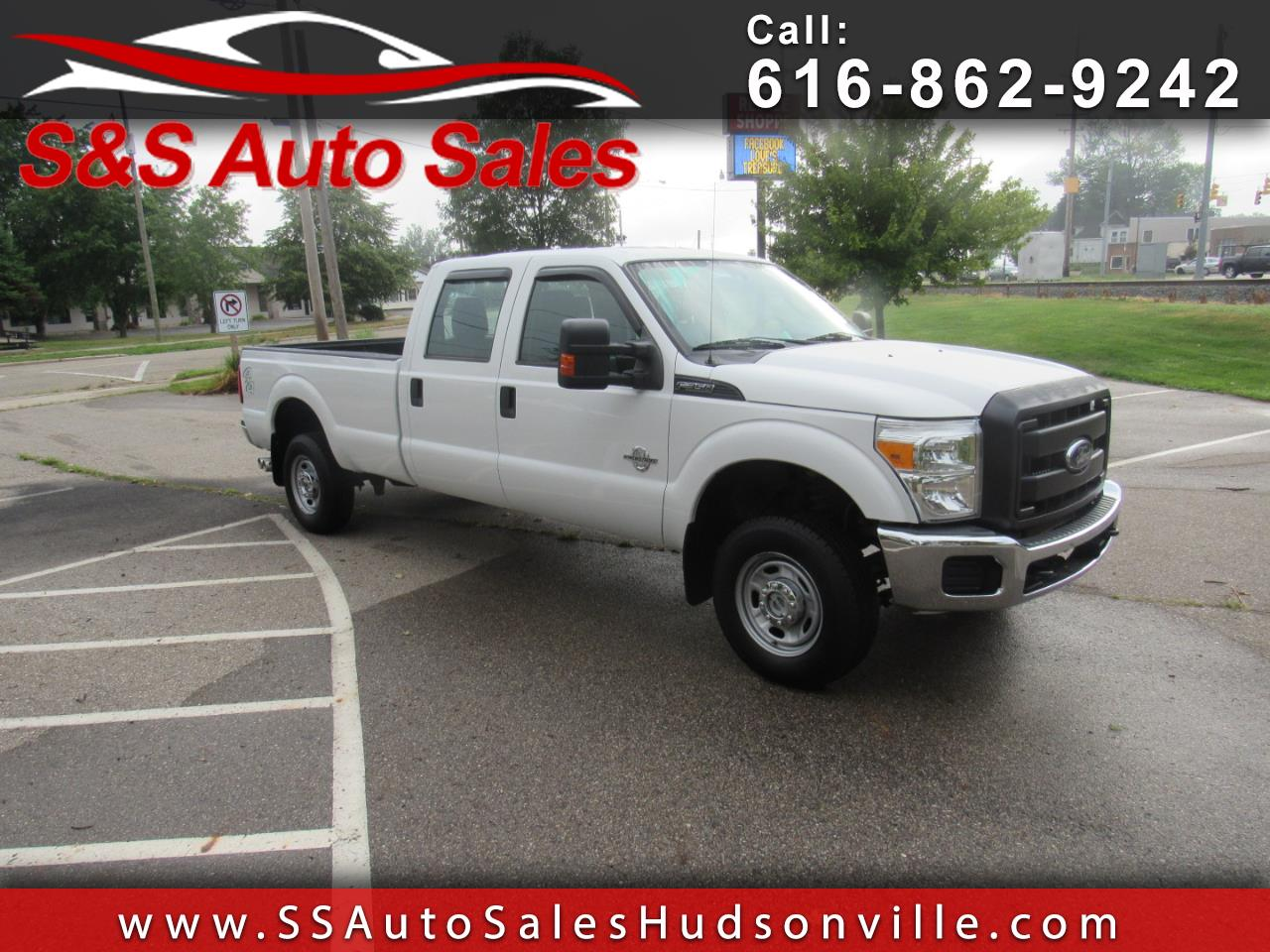 "2012 Ford Super Duty F-350 SRW 4WD Crew Cab 172"" XL"