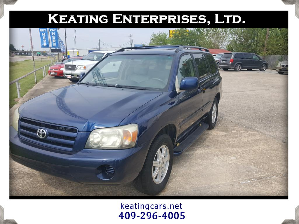 2006 Toyota Highlander 4dr 4-Cyl w/3rd Row (Natl)