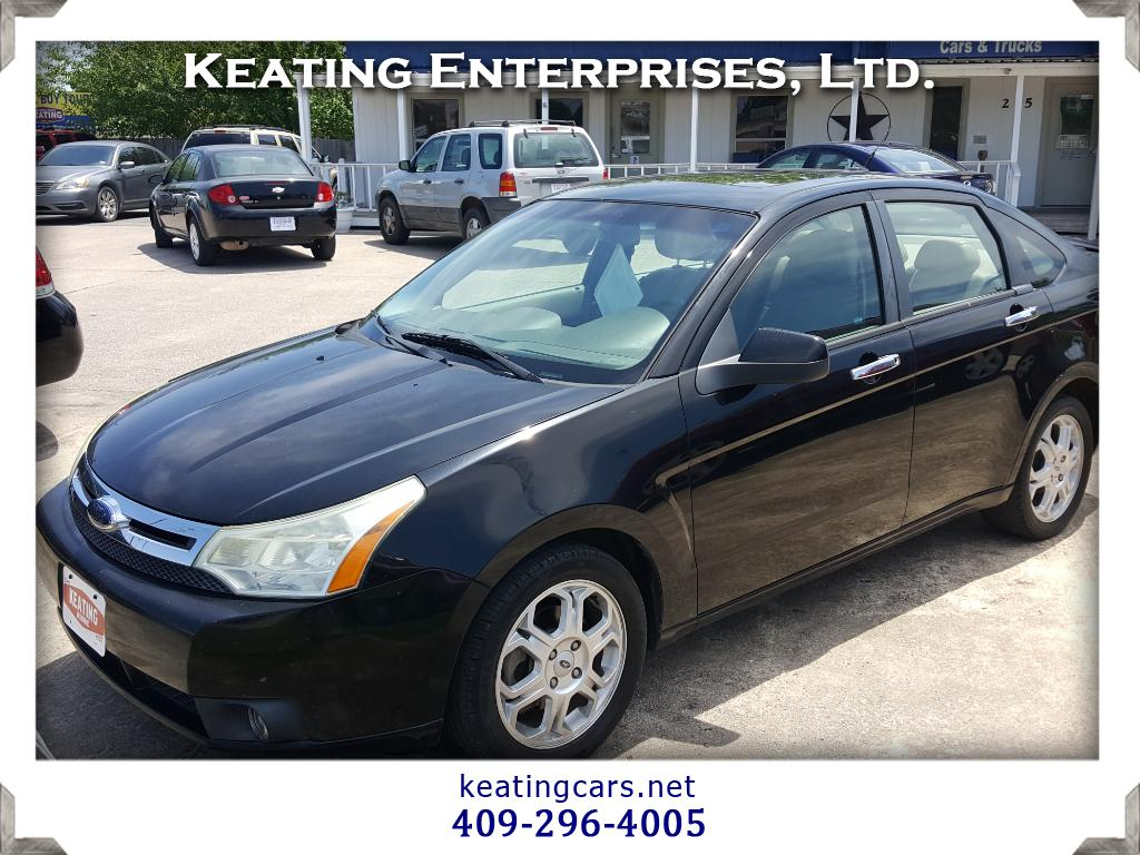 2009 Ford Focus 4dr Sdn SES