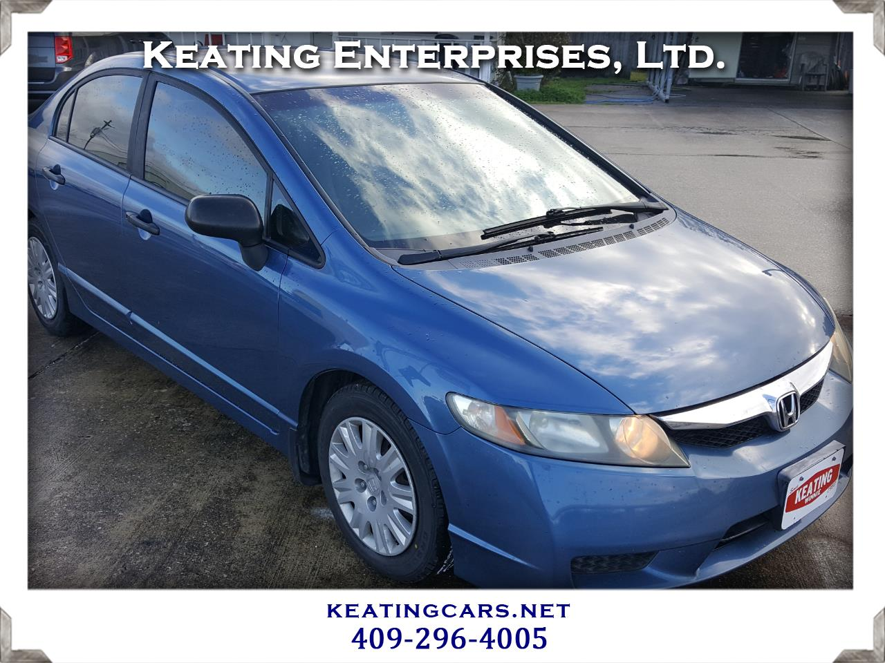 2009 Honda Civic Sdn 4dr Auto DX-VP