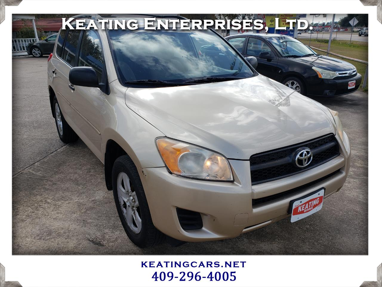Toyota RAV4 FWD 4dr 4-cyl 4-Spd AT (Natl) 2010