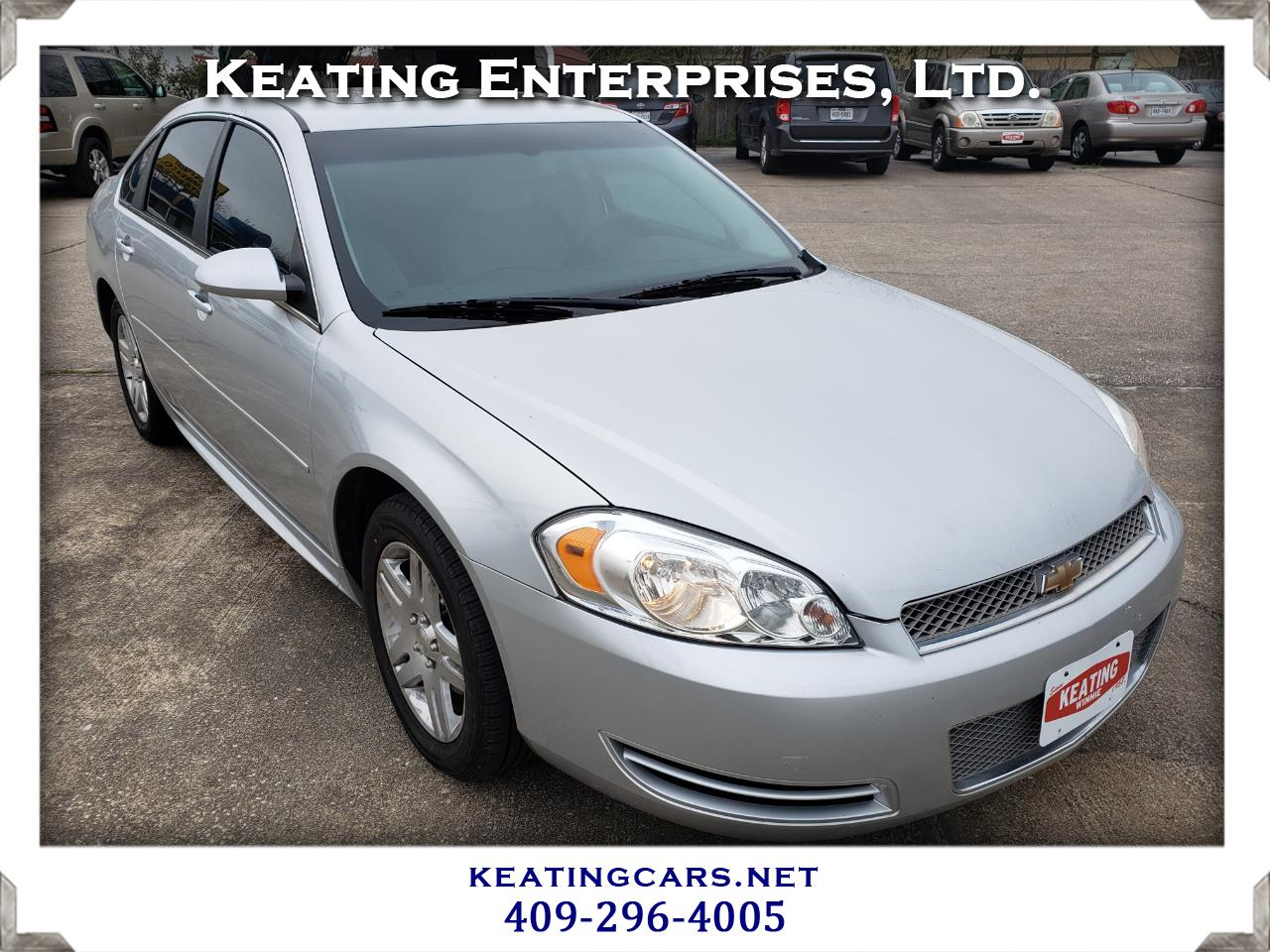 Chevrolet Impala Limited 4dr Sdn LT Fleet 2015