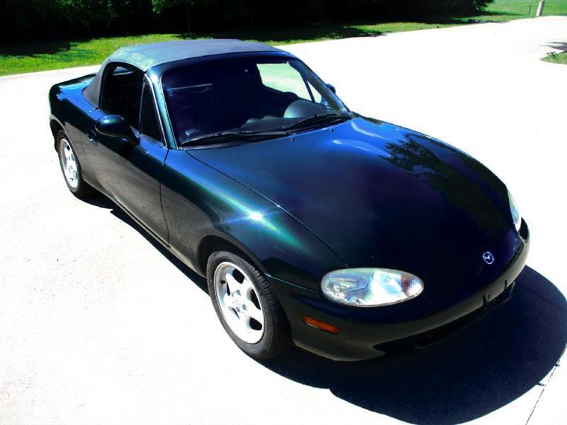 1999 Mazda MX-5 Miata 2dr Conv Leather Pkg Auto