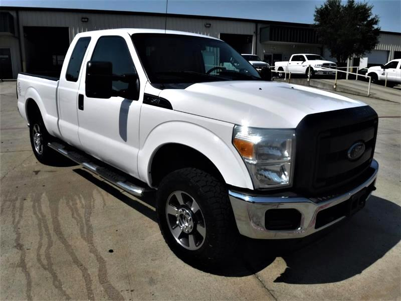 Ford F-250 SD XL SuperCab 4WD 2013