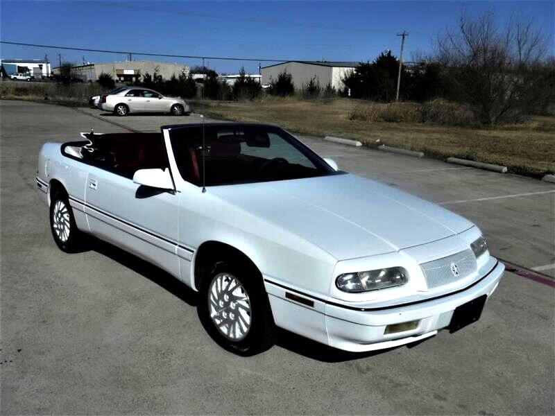 Chrysler LeBaron 2dr Convertible GTC 1994