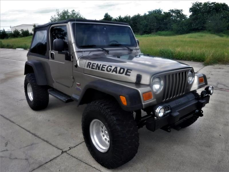 Jeep Wrangler 2dr Unlimited LWB 2004