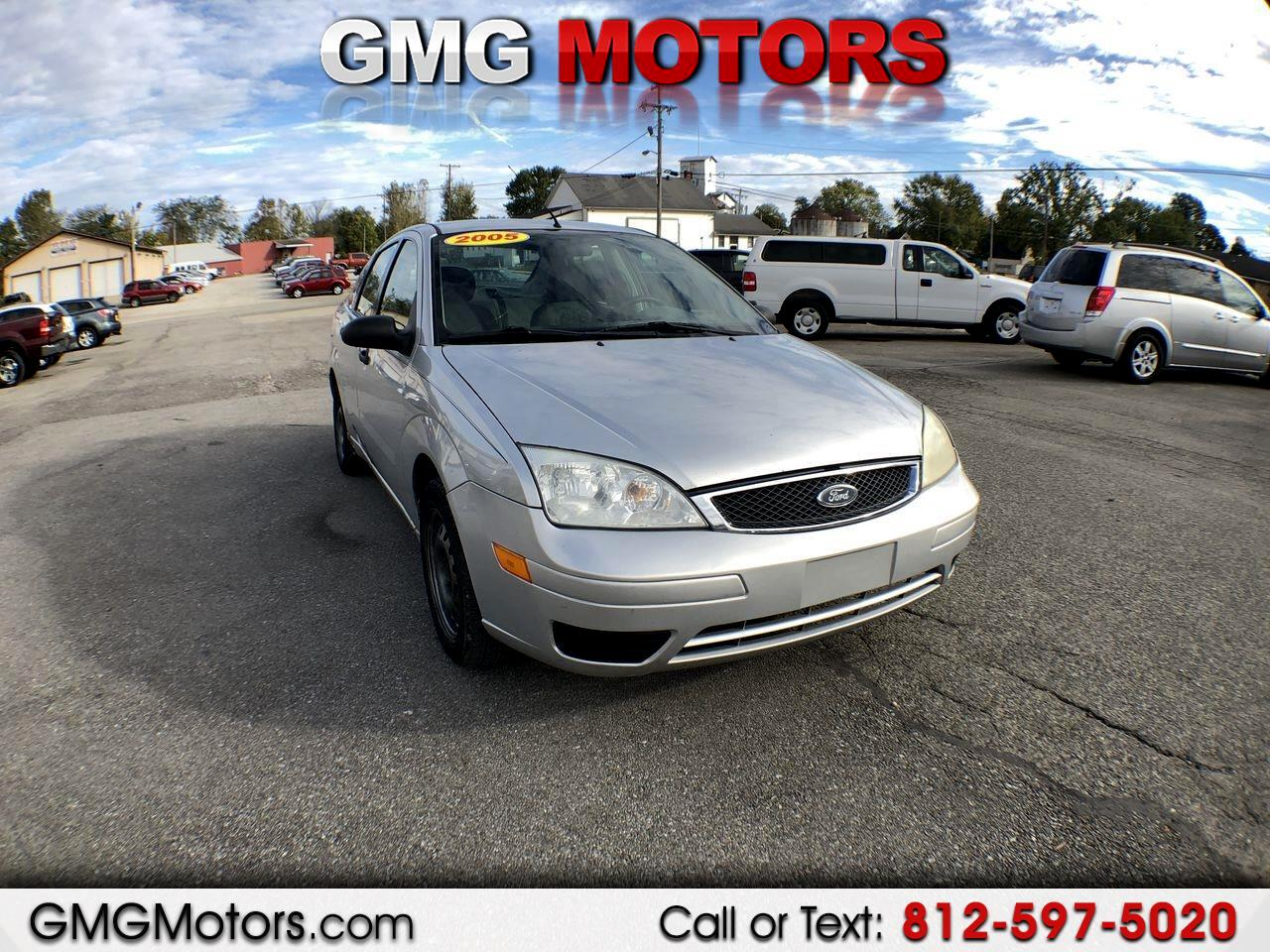 2005 Ford Focus 4dr Sdn ZX4 S