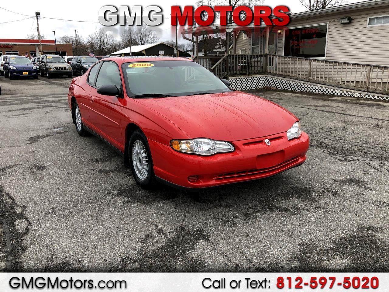 2000 Chevrolet Monte Carlo 2dr Cpe LS