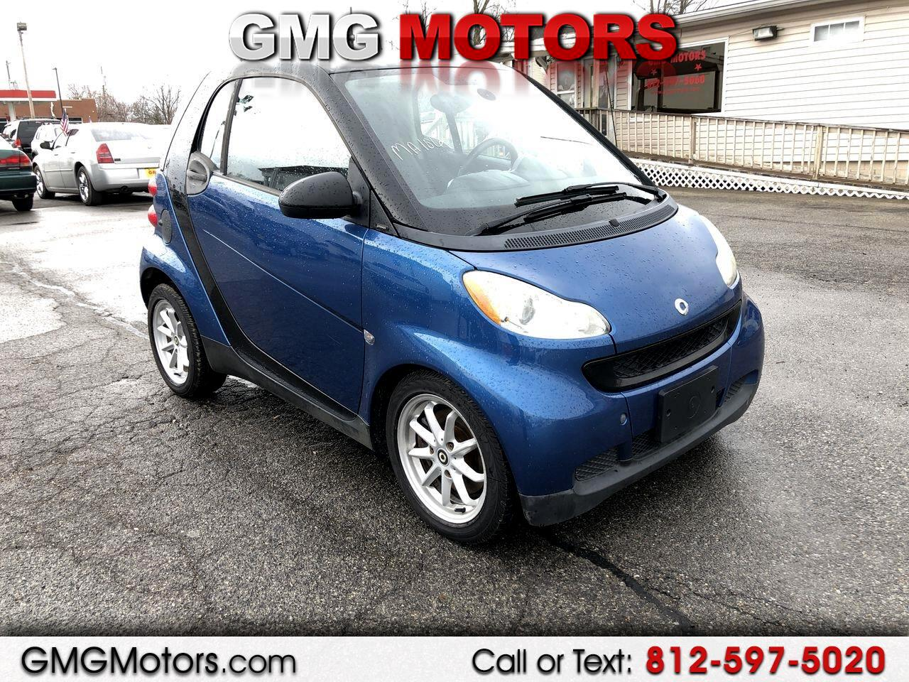 2008 smart Fortwo 2dr Cpe Pure
