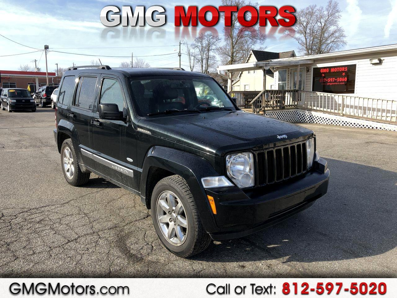 2012 Jeep Liberty 4WD 4dr Sport Latitude