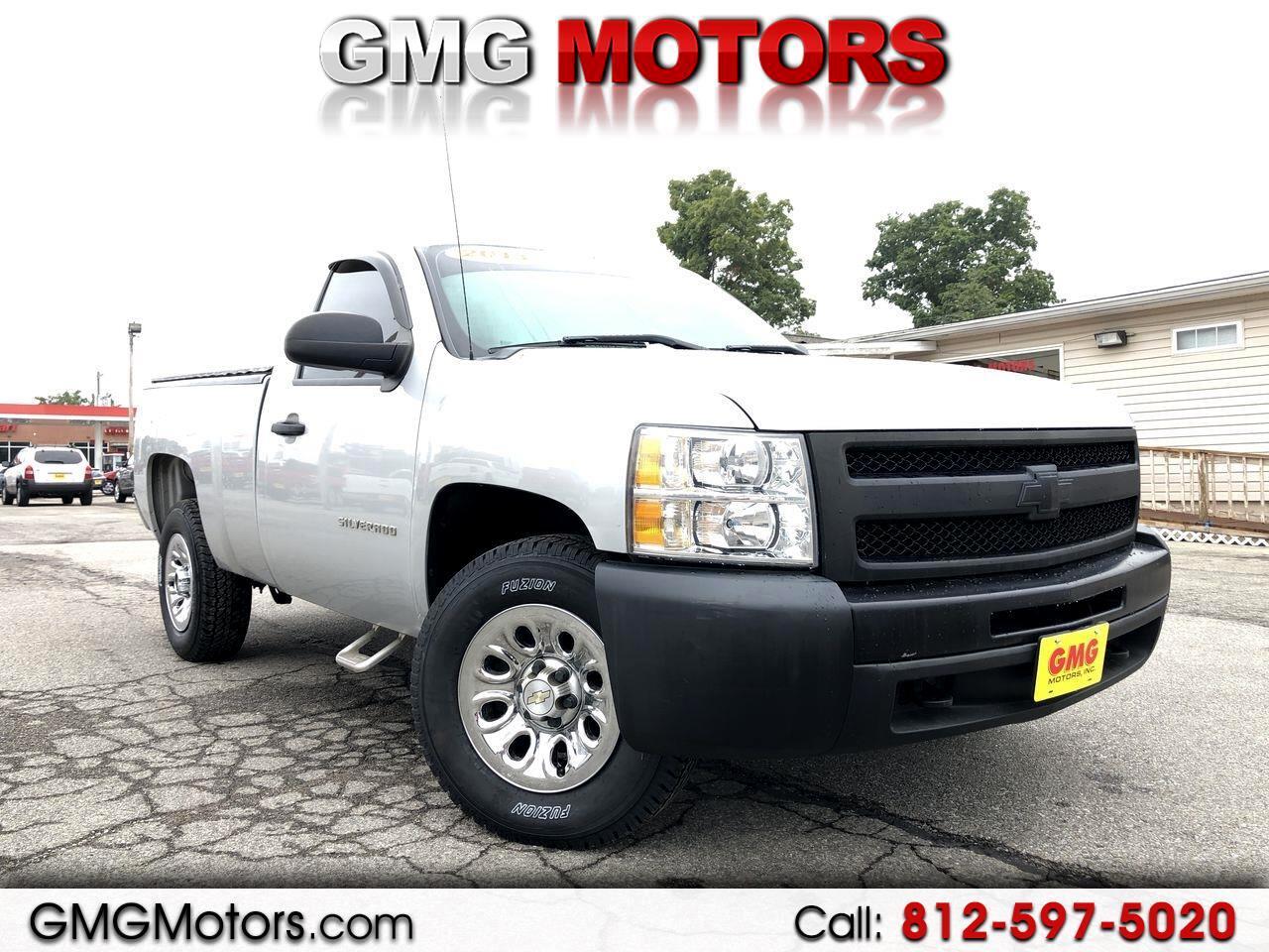 """2013 Chevrolet Silverado 1500 4WD Reg Cab 119.0"""" Work Truck"""