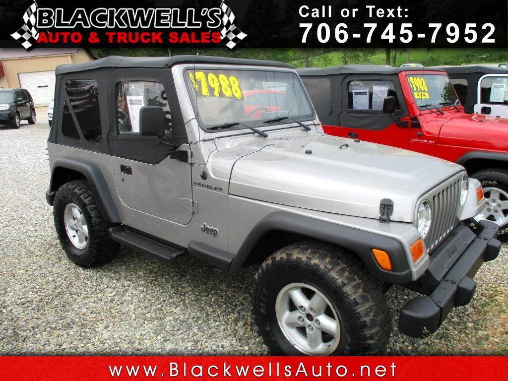 2000 Jeep Wrangler 2dr SE