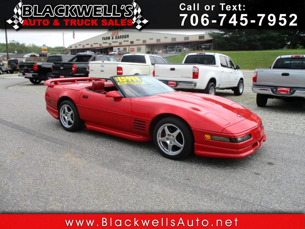 1992 Chevrolet Corvette 2dr Convertible