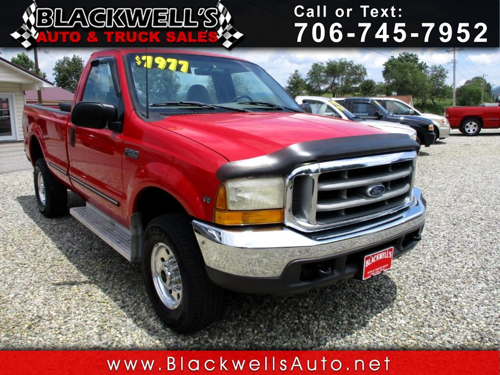"1999 Ford Super Duty F-250 Reg Cab 137"" Lariat 4WD"
