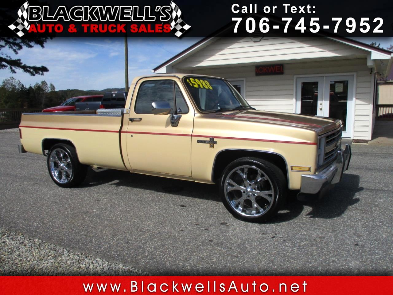 1985 Chevrolet Pickup C10 Fleetside 117.5