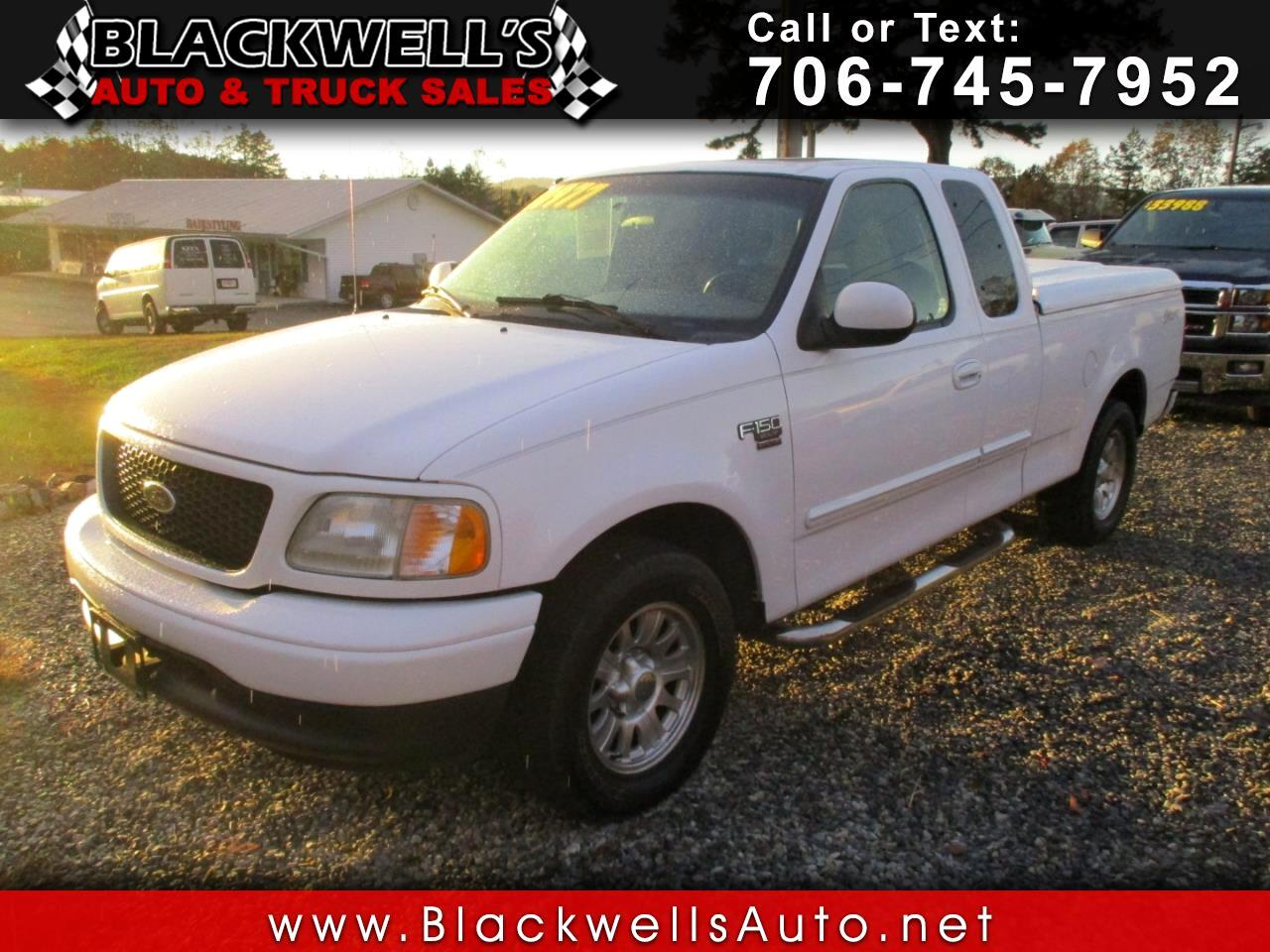 2002 Ford F-150 Supercab 139