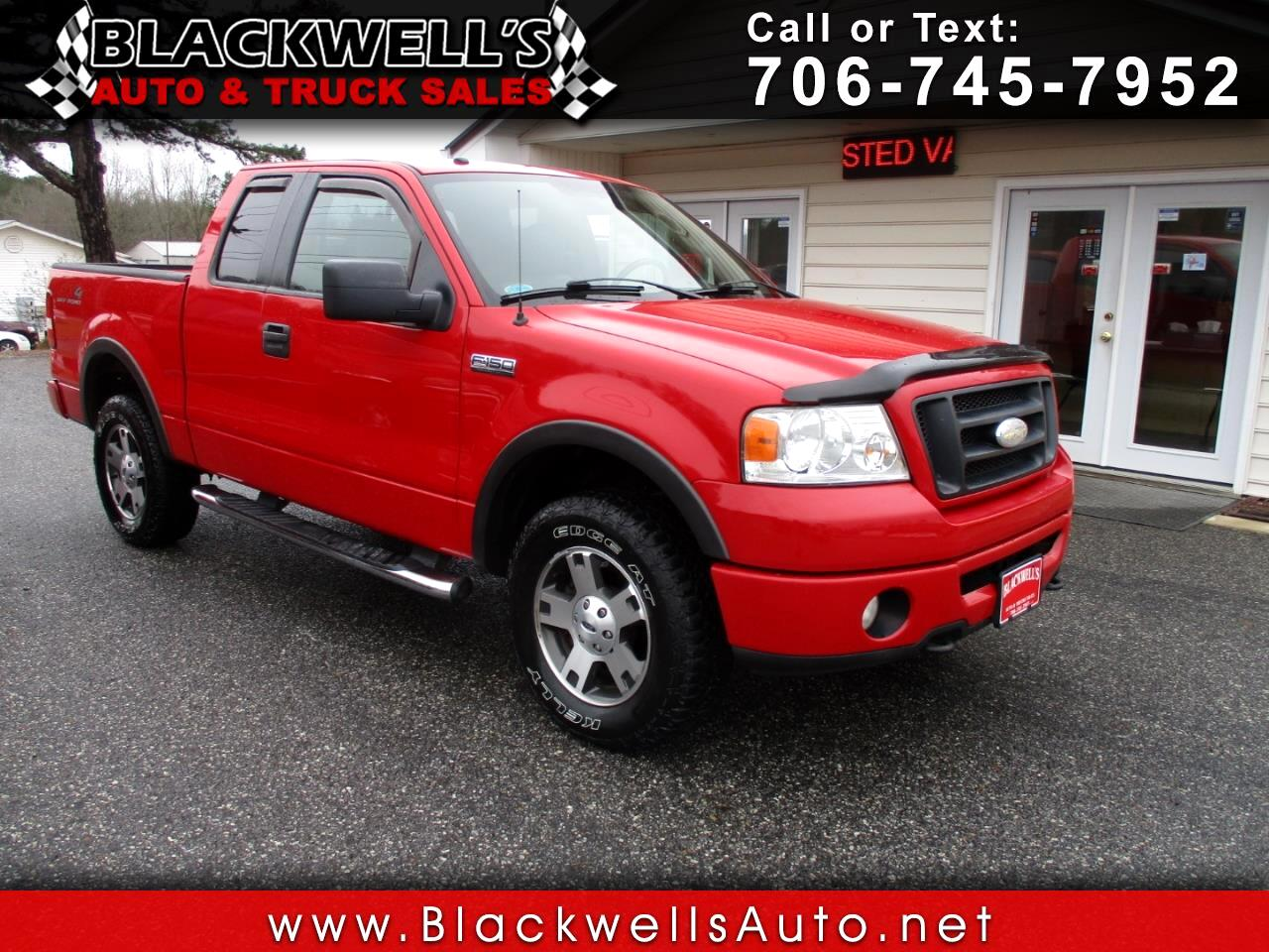 "2008 Ford F-150 4WD SuperCab 145"" FX4"