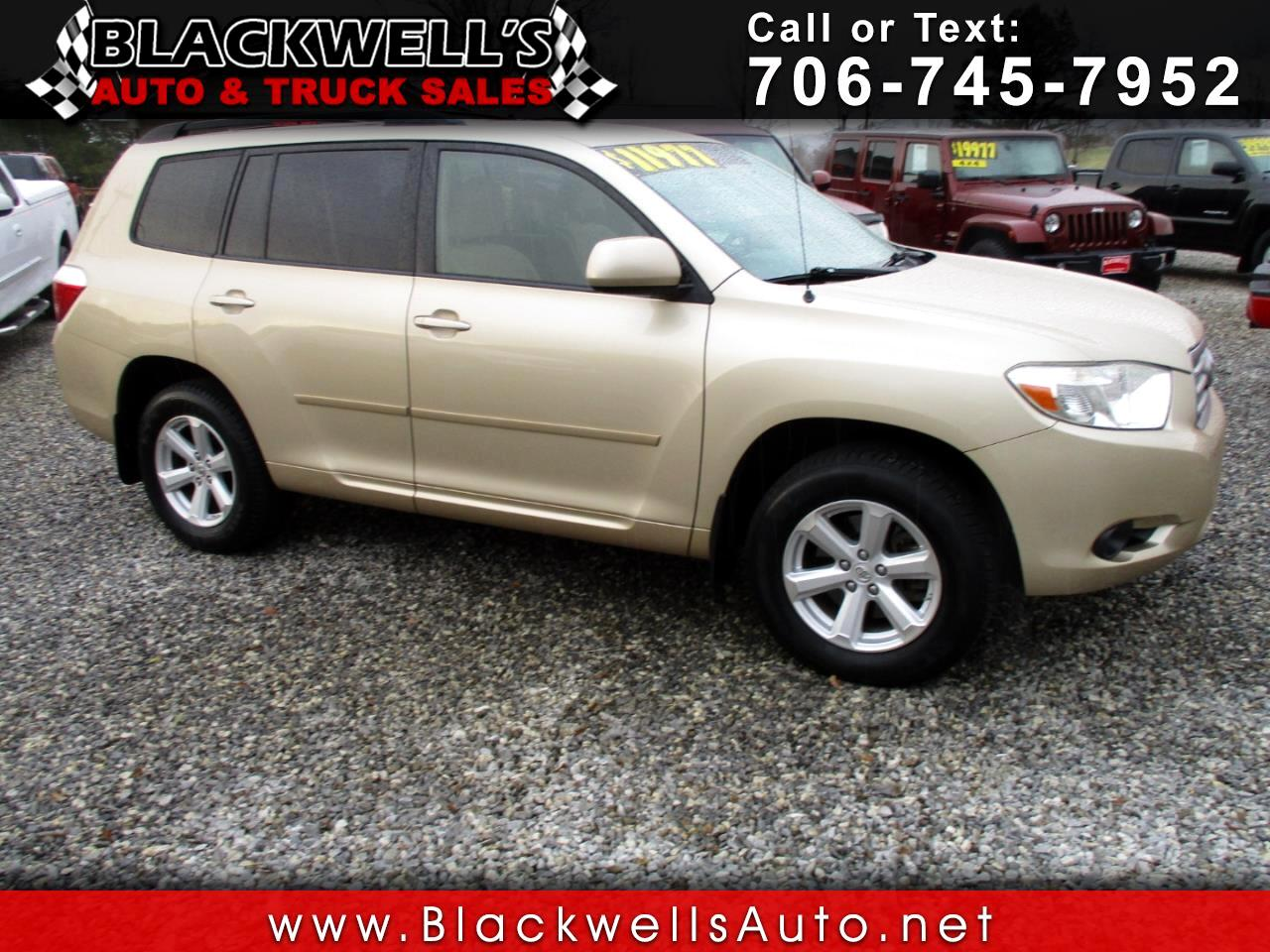 2009 Toyota Highlander FWD 4dr V6 Base (Natl)