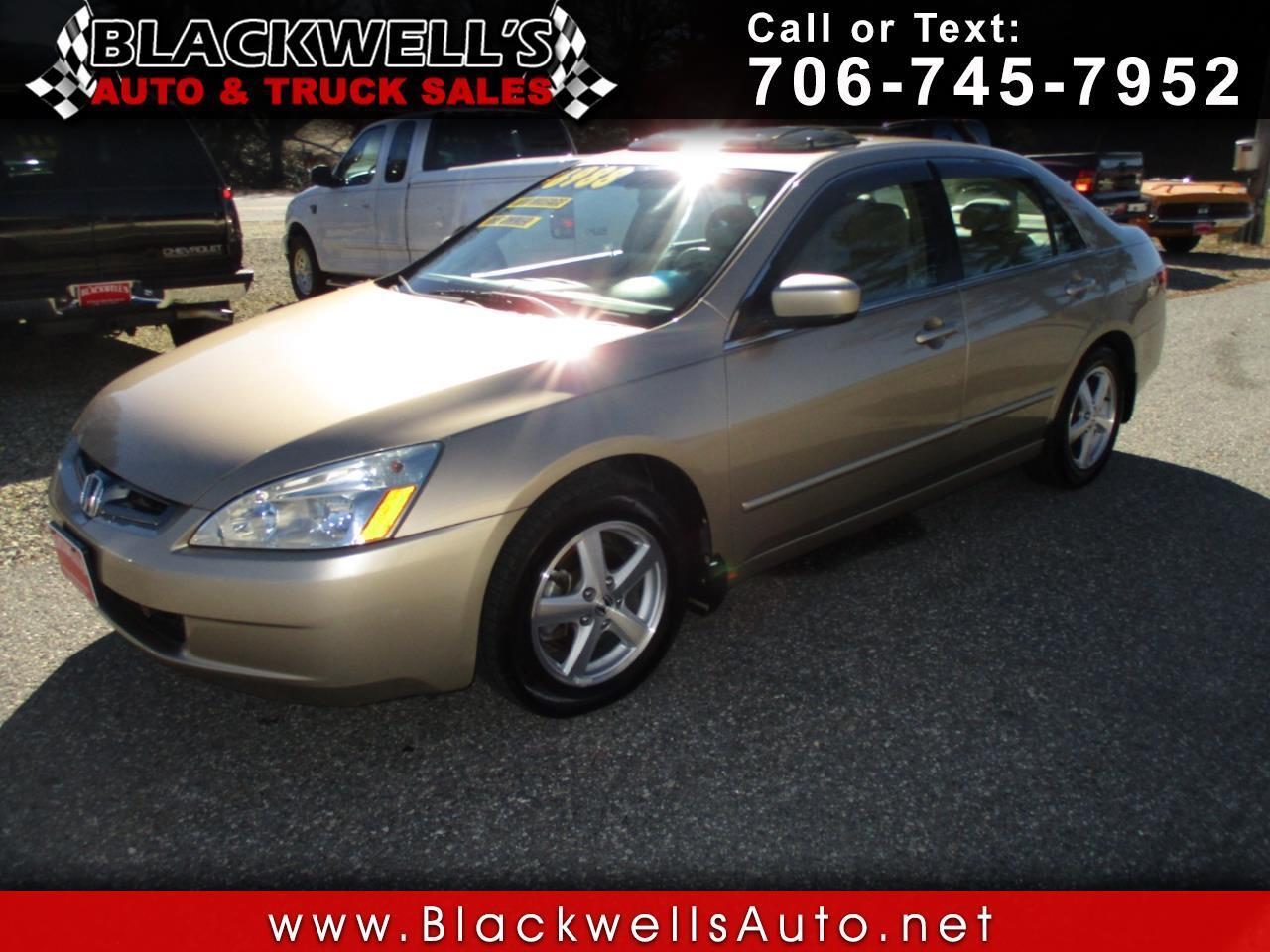 2005 Honda Accord Sdn EX-L AT