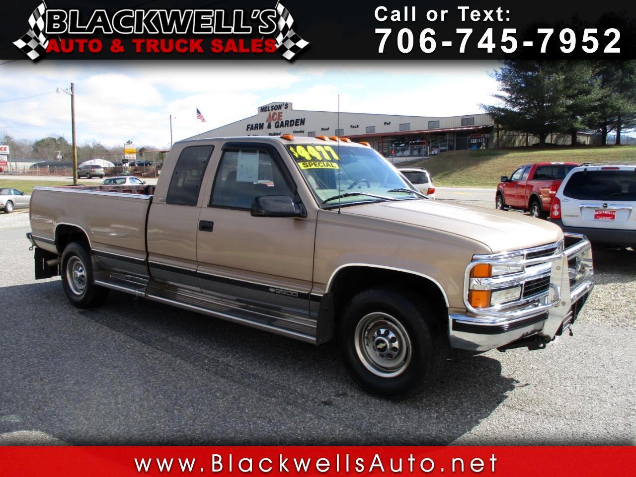 1997 Chevrolet C/K 2500 HD Ext Cab 155.5