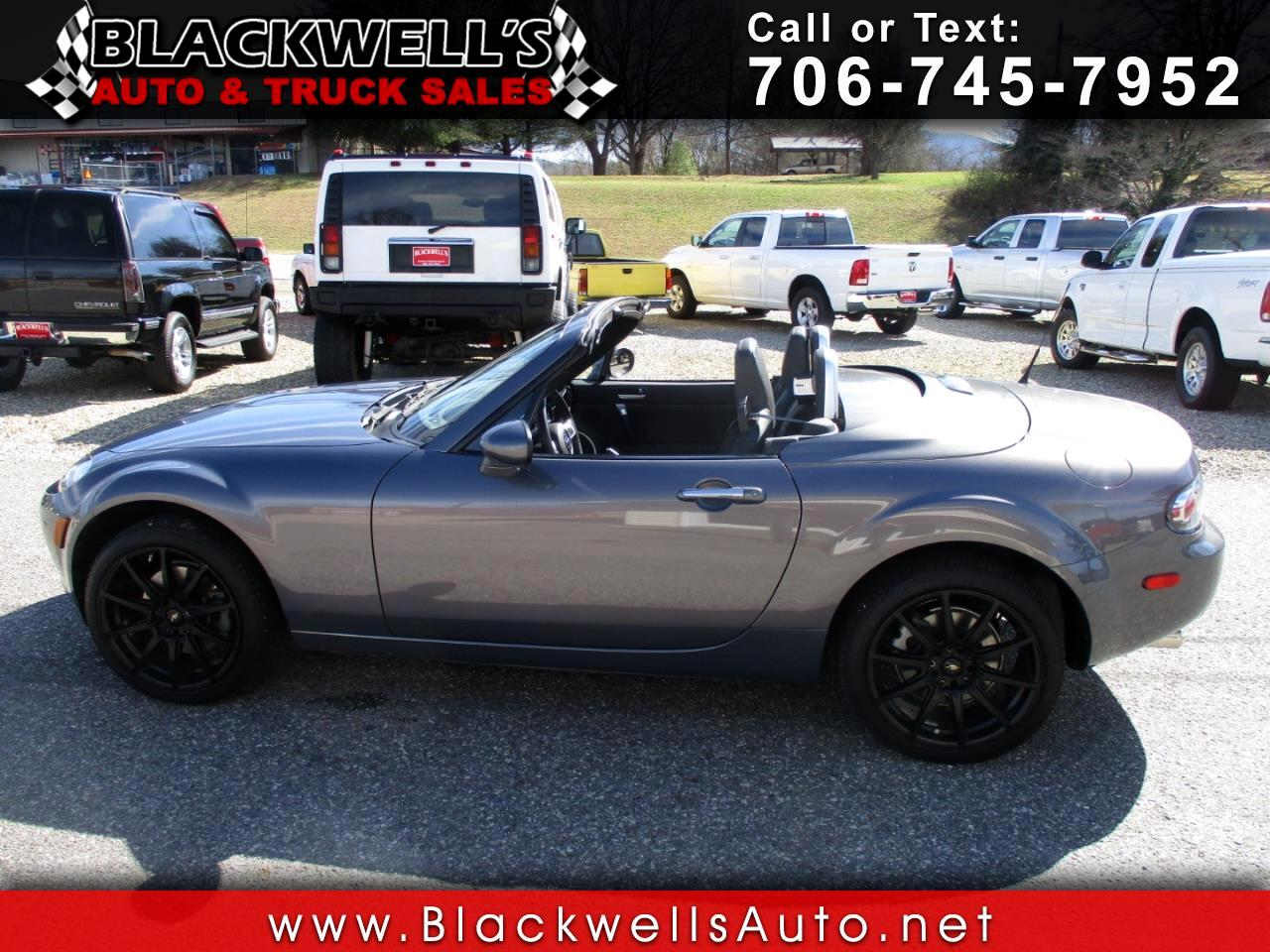 2008 Mazda MX-5 Miata 2dr Conv PRHT Man Grand Touring